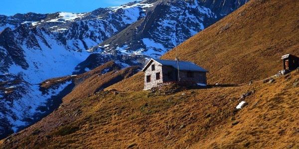 Ramozhütte im Herbst
