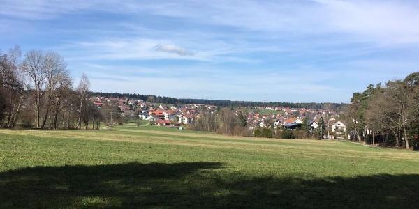 Blick über Schömberg