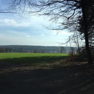 Blick auf Schömberg westl. Reha-Klinik