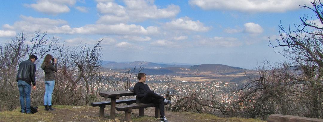 Vyhliadkový bod na vrchu Nagy-Hárs-hegy
