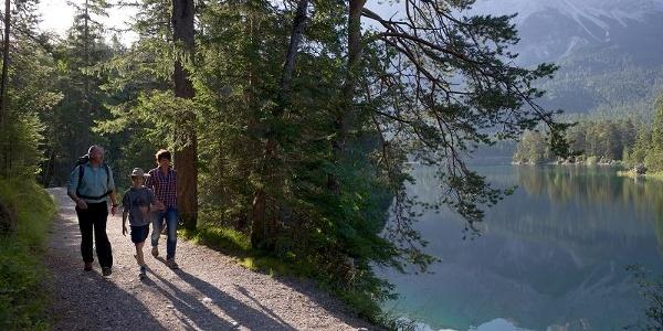 Wandern Im Zugspitzland Grainau Zum Eibsee Wanderung Outdooractive Com