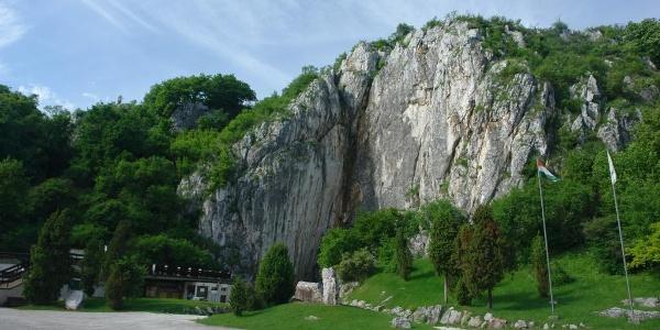 Aggtelek,Haupteingang der Baradla-Höhle