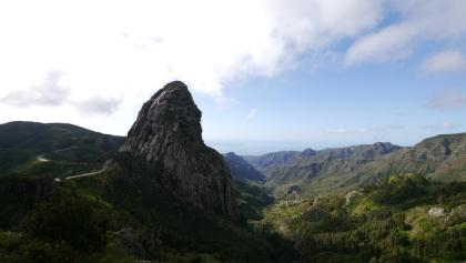 Beeindruckender Blick auf den Roque de Agando