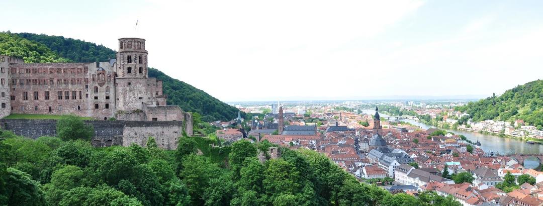 Heidelberger Schloss und Altstadt
