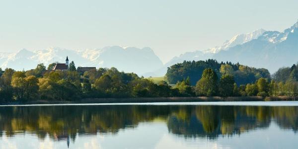 Abtsdorfer See mit tollem Bergblick
