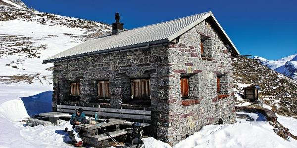Ramozhütte im Winter