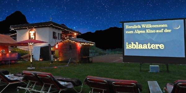 Openair-Kino in der isblaatere