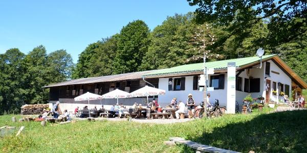Gummenhütte am Kandelberg