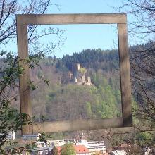 Blick zur Kastelburg