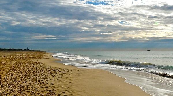 Malerische Küstenstreifen