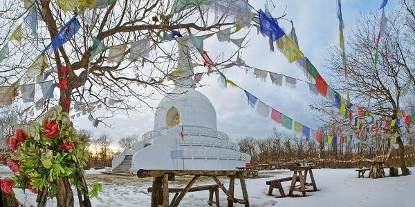 Stupa in Zalaszántó