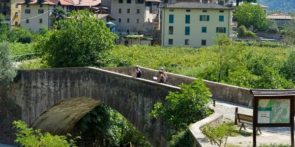 Il ponte romano a Ceniga