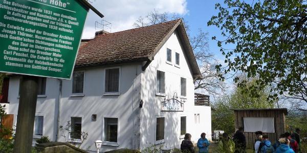"""Gasthof """"Schöne Höhe"""" und Belvedere"""