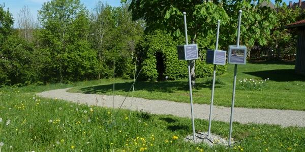 Trilogieplatz am Kreislehrgarten