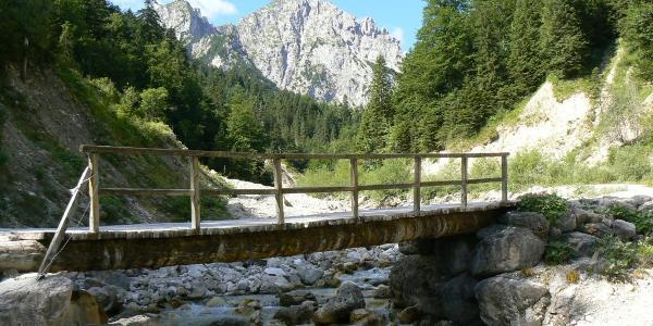Sababach - Aufstieg Musauer Alm