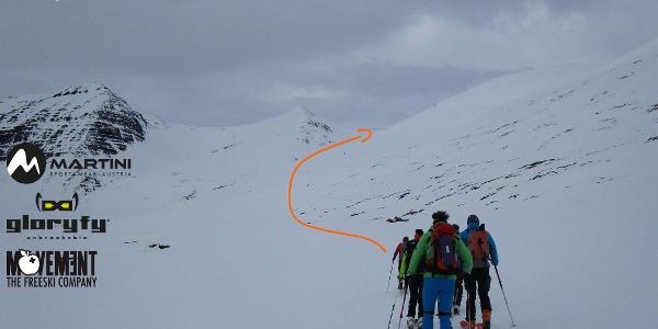 Titelbild Skitour Jökulkollur und Saudenshnjukar