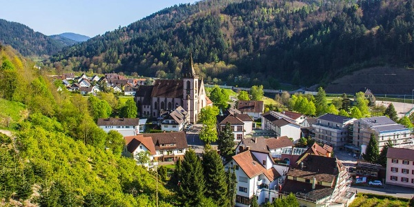 Blick auf Lautenbach