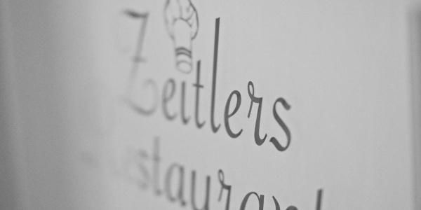 Eingangs-Logo Zeitlers Hotel & Apartments