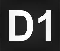 Wegmarkierung D1