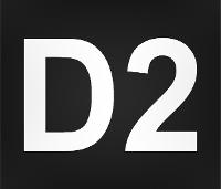 Wegmarkierung D2