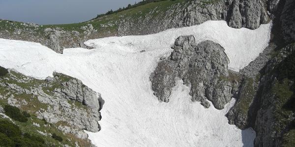 Doline bei der Knoppenwiese (20.06.2012)