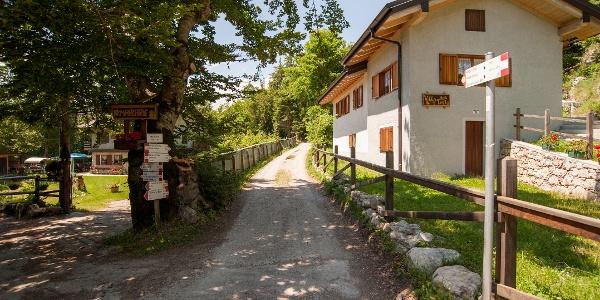 Die Straße in Marcarie
