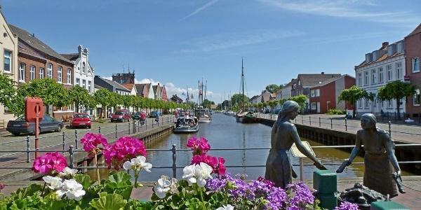 Am alten Hafen in Weener