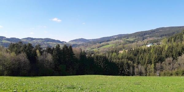 Blick vor Hagnberg Richtung Elisabethszell