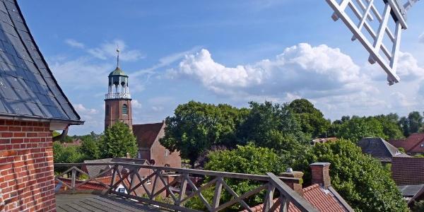 Blick von der Ditzumer Mühle
