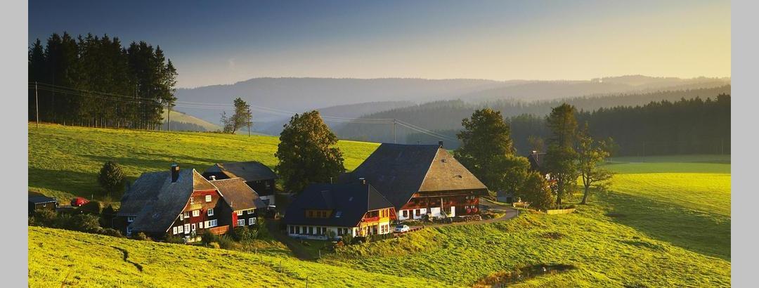 Der malerisch gelegene Oberfallengrundhof