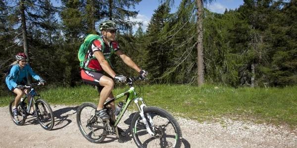 Radfahren in Hafling und Vöran