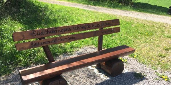 Einer der schönsten Aussichtspunkte im Thüringer Wald
