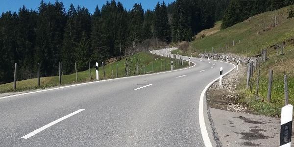 Aufstieg zum Riedbergpass