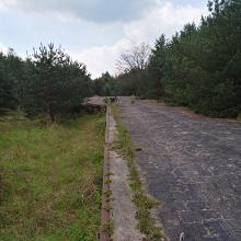 Lost place Verladerampe bei Schwepnitz