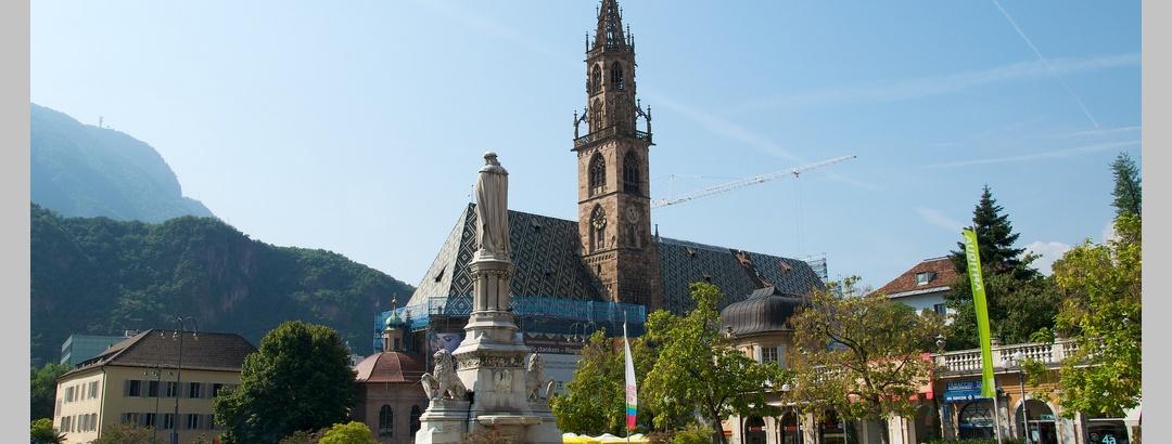 Blick über den Marktplatz
