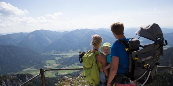 Am Gipfel des Wendelsteins