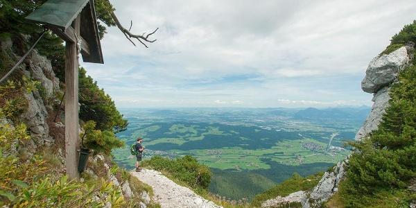 Hochstaufen von Schloss Staufeneck © RoHa Fotothek