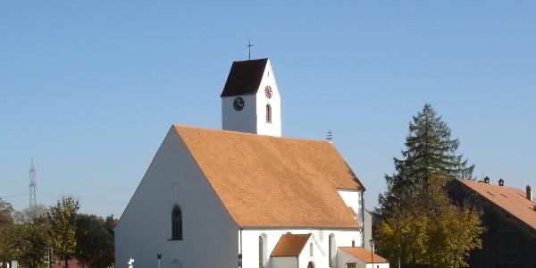 Wallfahrtskirche Maria Rain im Allgäu