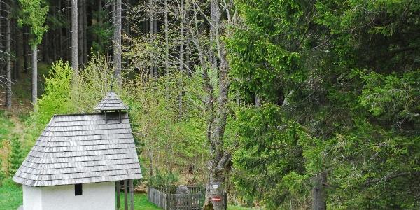 Die Kapelle am Eisenpass