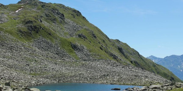 Hochalpine Landschaft