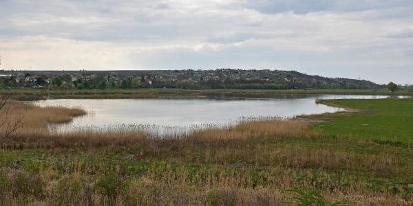 A Réti-tó a kilátóból