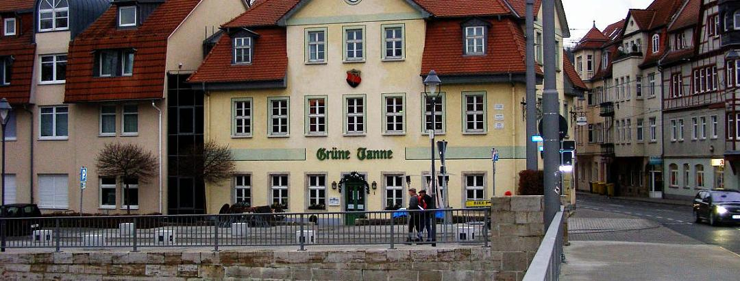 """an der """"Grünen Tanne"""""""
