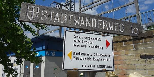 Am Start in Nussdorf