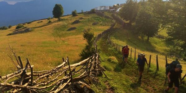 Shortcut to Vranske stijene