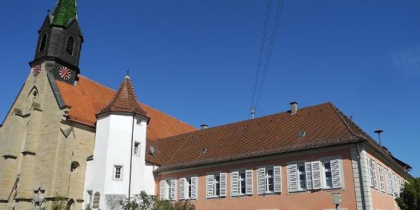 Das Schloss in Hemmendorf gehörte dem Johanniterorden