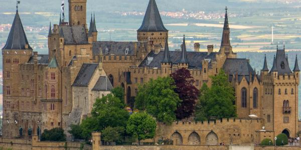 Hohenzollern frontal