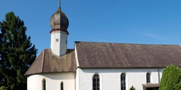 Kirche St. Johann auf Burg und Römerkastell