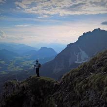 Aussicht vom oberen Gildensteig nach Westen