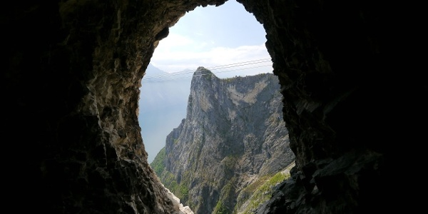 Über die Cima Capi - Via Ferrata Fausto Susatti in 360°