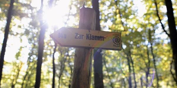 Wanderung in der Klamm in Riedenburg im Altmühltal